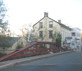 West Mechanics Street Bridge in New Hope, Bucks County, PA