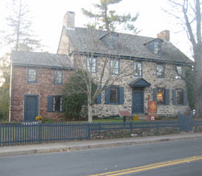 Parry Mansion in New Hope, Bucks County, PA