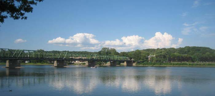What to do along the Delaware River in New Hope, Bucks County, PA
